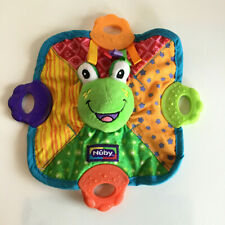 Nuby Frog Teether: Euc: Brightly Colored, Many Textures: Plush Frog: Wonderful!