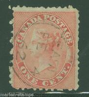 CANADA SCOTT#14  USED AS SHOWN
