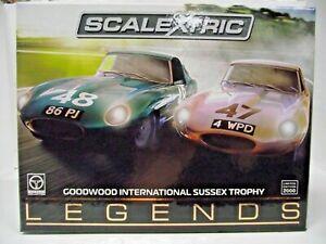 Scalextric C3898A 1:32 Goodwood International Sussex Trophy (Legends) Box Set