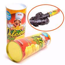 Trick Potato Chip Puede novedad Broma Broma Jump Snake Funny Tricky Toys