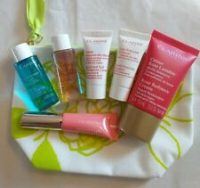 CLARINS MINI BUNDLE, 6 X BRAND NEW GENUINE CLARINS PRODUCTS + PRETTY BAG