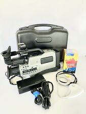 Panasonic AG-195 VHS Movie Camera Package W/ Case + USB Converter + Tapes