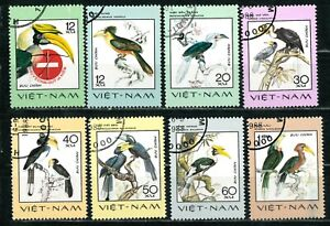 VIETNAM OLD STAMPS 1977 - Rare Birds - USED/CTO