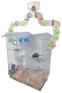 Large 5-Story Lookout Tower Dwarf Hamster Habitat Rodent Gerbil Mouse Rats Mice