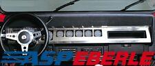 Armaturenblende Edelstahl Armaturenbrett Jeep Wrangler YJ 87-95