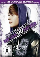 JUSTIN BIEBER: NEVER SAY NEVER, Extended Director's Edition (NEU+OVP)