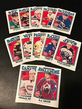 2016-17 O PEE CHEE RETRO ROOKIES SERIES 2 (12) CARDS