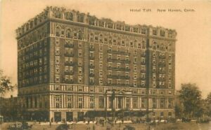 Automobiles C-1910 Hotel Taft New Haven Connecticut Judd Postcard 21-1813