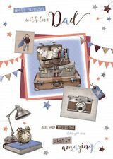 Birthday Card - Happy birthday Dad - Wishing Well (B72)