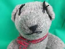 ALPACA WOOL SHEEP'S WOOL ASARBOLSEM GRADE TEDDY BEAR HAND KNIT PLUSH BOLIVIA