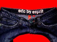 Edc by ESPRIT JEANS HÜFTJEANS FOUR JEANS SKINNY W28 L30 W 28 L 30 Gr.36 Wie  NEU