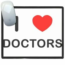 I Love Heart Doctors - Thin Pictoral Plastic Mouse Pad Mat BadgeBeast