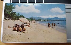 Nha Trang Beach, South Vietnam Vintage Postcard - printed HK