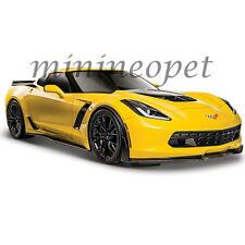 MAISTO 31133 2015 15 CHEVROLET CORVETTE STINGRAY C7 Z06 1/24 DIECAST CAR YELLOW