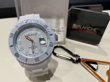 Avalanche Unisex Alpha Collection White Watch Plus FREE Gift NEW Boxed Bargain