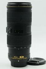 Nikon Nikkor AF-S 70-200mm f4 G VR ED IF Lens 70-200/4 AFS                  #150