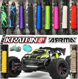*NEW* 1/5 Kraton 8s Arrma RC Shock Covers Shock Wraps / Dust Sox - 4 pcs