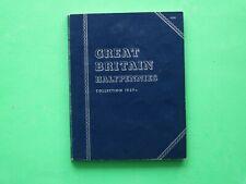More details for 1936-1967 george vi elizabethii complete full whitman half-penny folder sno57005