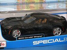 2014 Chevrolet Corvette C7 Stingray amarillo Maisto 31182