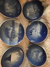 6 Bing & Grondahl Plates