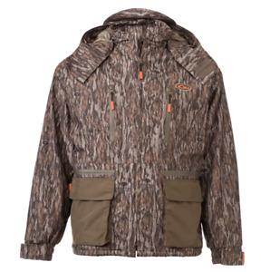 Drake Waterfowl Non Typical Sherpa Fleece Lined Jacket Mens SZ-LARGE Botomland
