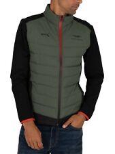 Hackett London Men's AMR Front Quilt Jacket, Green
