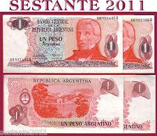 ARGENTINA 1 PESO 1983 ERROR NOTE  ERRORE  Sign 2 Lopez - Vazquez  P 311  FDS/UNC