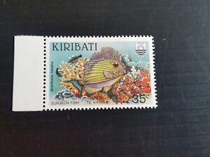 KIRIBATI 195 SG 234W & 235W FISH WMK INVERTED MNH