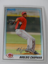2010 Bowman Chrome #BCP199 Aroldis Chapman Cincinnati Reds Rookie Baseball Card