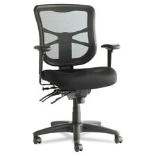 Alera Alera Elusion Series Mesh Mid-Back Multifunction Chair,Black EL42ME10B NEW