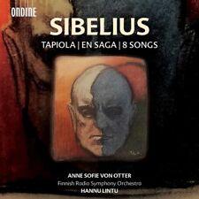 Tapiola En Saga & Eight Songs - Sibelius / Lintu (2017, SACD NIEUW)
