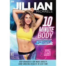 Jillian Michaels: 10 Minute Body Transformation - Second Edition DVD R4