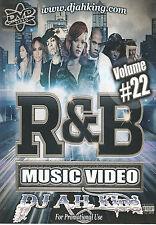 RNB VOL 22 MUSIC VIDEO DVD JOHN LEGEND BEYONCE TREY SONGZ AUGUST ALSINA USHER