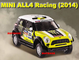 1/43 Mini All4 Racing 304 Rally Dakar 2014 Car Diecast Ford Ural Total Team BMW