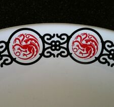 Rare Promotional Game Of Thrones Chop Plate Platter Hbo Three Headed Dragon