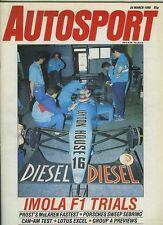 Autosport March 24th 1988 *Sebring IMSA & ETCC Preview*