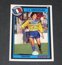 BERENGUIER SPORTING CLUB TOULON SCT MAYOL PANINI FOOTBALL CARD 93 1992-1993