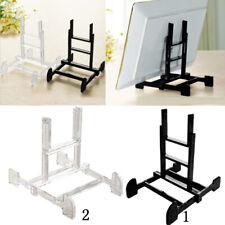 Adjustable Display Stand Easel Plate Holder Photo Frame Art Black Color