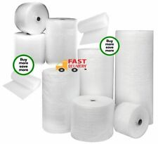 BUBBLE WRAP Rolls, Small Bubble 100m, ALL Sizes - Packaging Removals, Storage