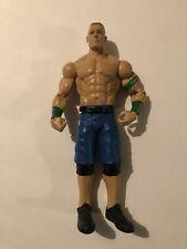 "Mattel WWE John Cena 6"" Figure Series 22 Blue Shorts Green Band 59 Classic Basic"