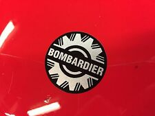 Bombardier Logo Sticker Decal Emblem 516000983 219902468 Seadoo GTX DI Black