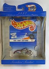 Hot Wheels ~ 30 years AUTHENTIC COMMEMORATIVE REPLICA 1997 Scorchin' Scooter