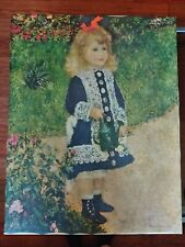 1876 Pierre Auguste Renoir Girl With Watering Can World Famous Masterpiece...