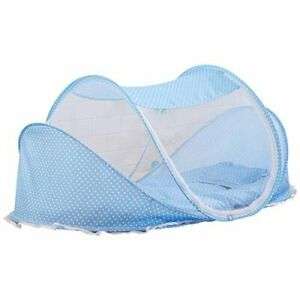 Sfree Foldable Baby Travel Pop-up Bed Crib, Portable Infant Mosquito Net Tent