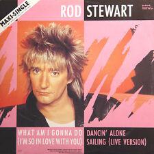 ROD STEWART What Am I Gonna Do Dancin' Alone GER Press Warner 92-0134-0 Maxi 45
