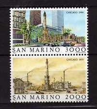 14290) San Marino 1986 MNH Chicago