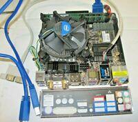 ASROCK Z87E-ITX + I7-4770 SR149 +16GB RAM +WIFI +I/O SHIELD + FAN H/S +USB CBLS