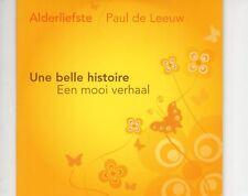CD ALDERLIEFSTE & PAUL DE LEEUWune belle histoireEX+ CARDSLEEVE (B1089)