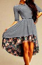 Markenlose geblümte Damenkleider in Größe M