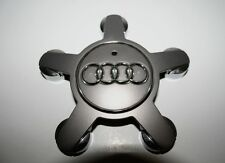 AUDI A4 Part #4F0601165N Factory OEM CENTER CAP 58855 & 58836 Charcoal (Single)